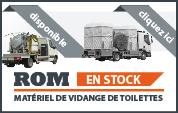 Les machines en stock pour le materiel d'entretien de toilettes