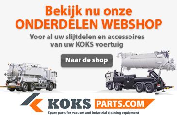 Onderdelenwebshop voor industrieel reinigingsmaterieel