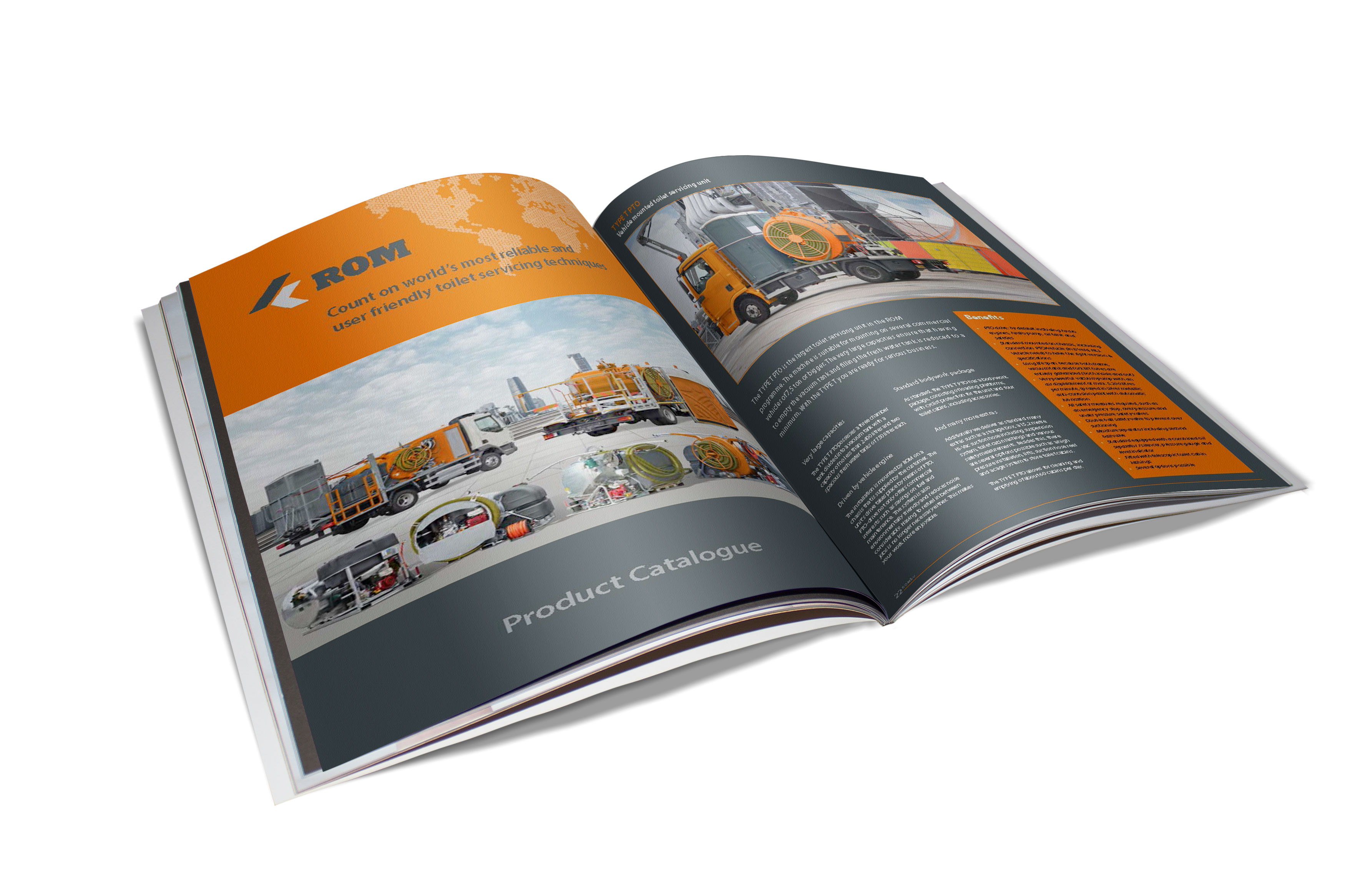 New toiletservice catalog available - ROM BV - Sewer cleaning- and