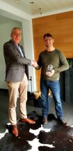 Kanalwerkzeug Frank Humpert wins Encouragement Trophy 2017