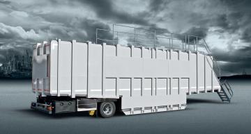 KOKS TAINER - Mobiele vloeistofcontainer 86 m³