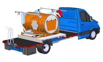 FLEXI 1100/750 PTO - Nástavba na vozidlo