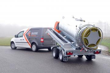 ROM VAC Pick-up units - ROM BV - Sewer cleaning- and toilet