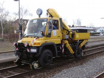 Inzet light rail/spoorwegnet