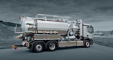KOKS ECOVAC - Saci vozy - Tlakové/sací nákladní vozidlo - Vakuové vozy