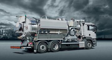 KOKS ECOVAC COMBI - Sací/ vysokotlaké nákladní vozidlo