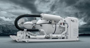 KOKS MEGAVAC CYCLOON LOADER - Selfsupporting vacuum-, opslag- en afzakdoseerunit